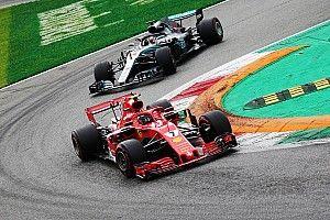 Räikkönen hátsó kameranézetéből Hamilton sorsdöntő előzése az Olasz Nagydíjról