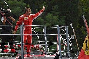 Raikkonen, con un segundo puesto en el podio 100 de su carrera en F1