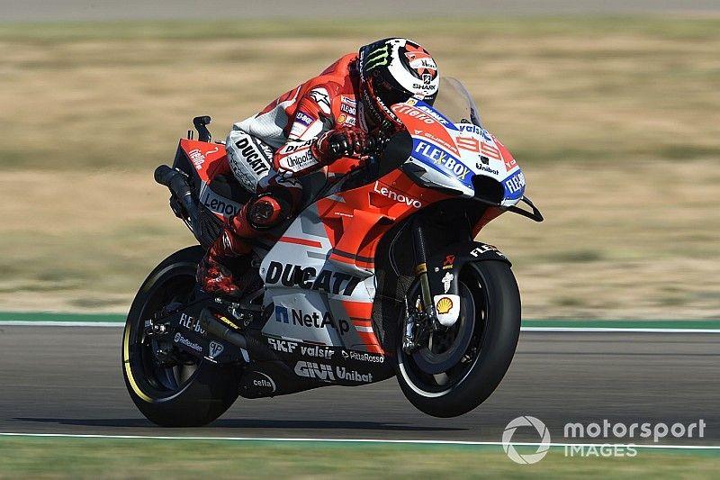 MotoGP Aragon: Jorge Lorenzo erobert Pole – Valentino Rossi nur 18.