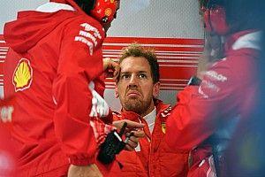 """Meilleur temps mais sorti de piste, Vettel sait """"ce qui ne marche pas"""""""