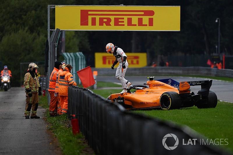 Formel 1 Belgien 2018: McLaren-Spielchen enden mit Crash