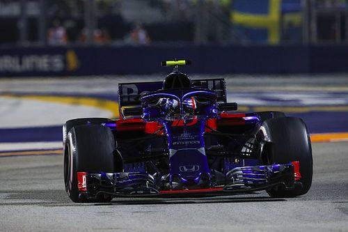A Toro Rosso fejlesztései körülbelül a melbourne-i szinten állnak