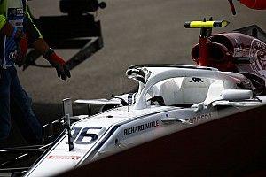 Whiting ziet belang halo: Alonso had anders wellicht hoofd Leclerc geraakt