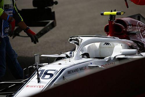 Leclerc: Şiddetli bir temas yaşadım