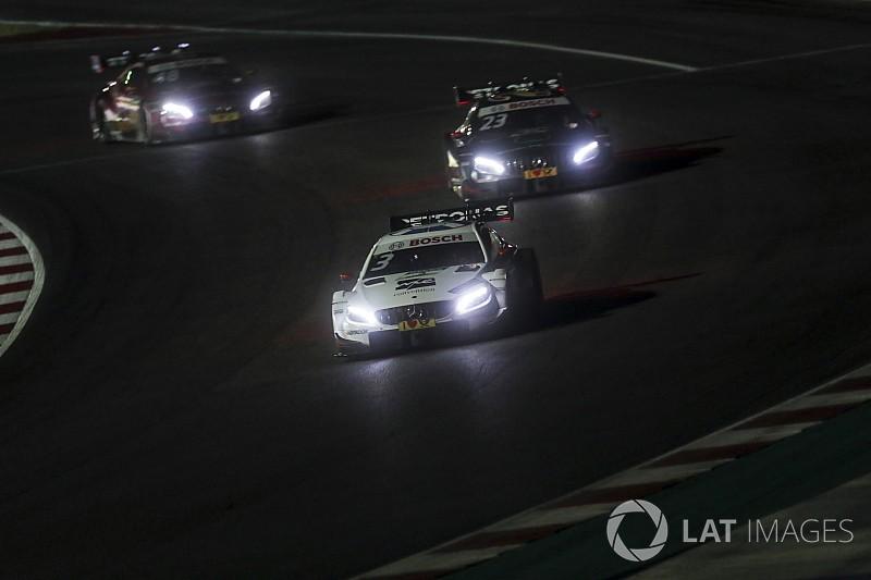 DTM Misano: Di Resta wint chaotische nachtrace, eerste podium Frijns