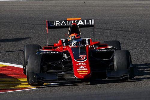 Мазепин впервые выиграл квалификацию GP3
