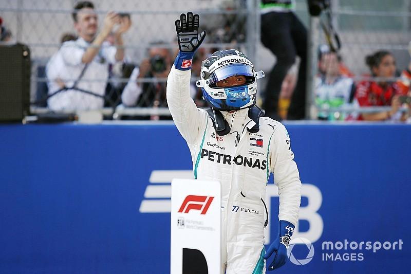 Bottas arrebata la pole en Rusia a Hamilton