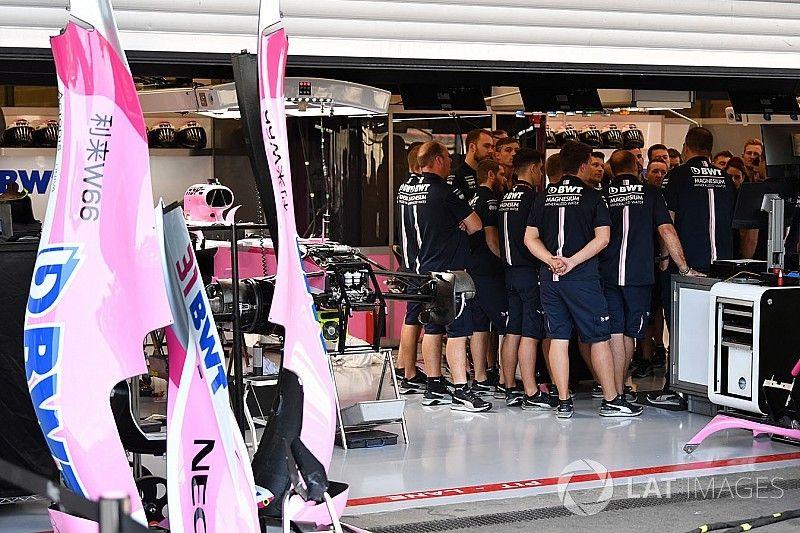 """Pérez espera que sea todo """"normal"""" para Force India en Spa"""