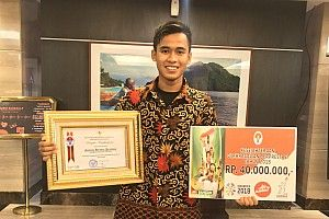 Galang Hendra diganjar penghargaan Pelaku Olahraga Berprestasi