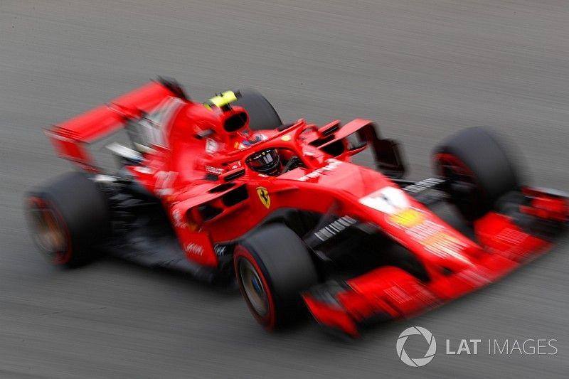 Startopstelling voor de Grand Prix van Italië 2018