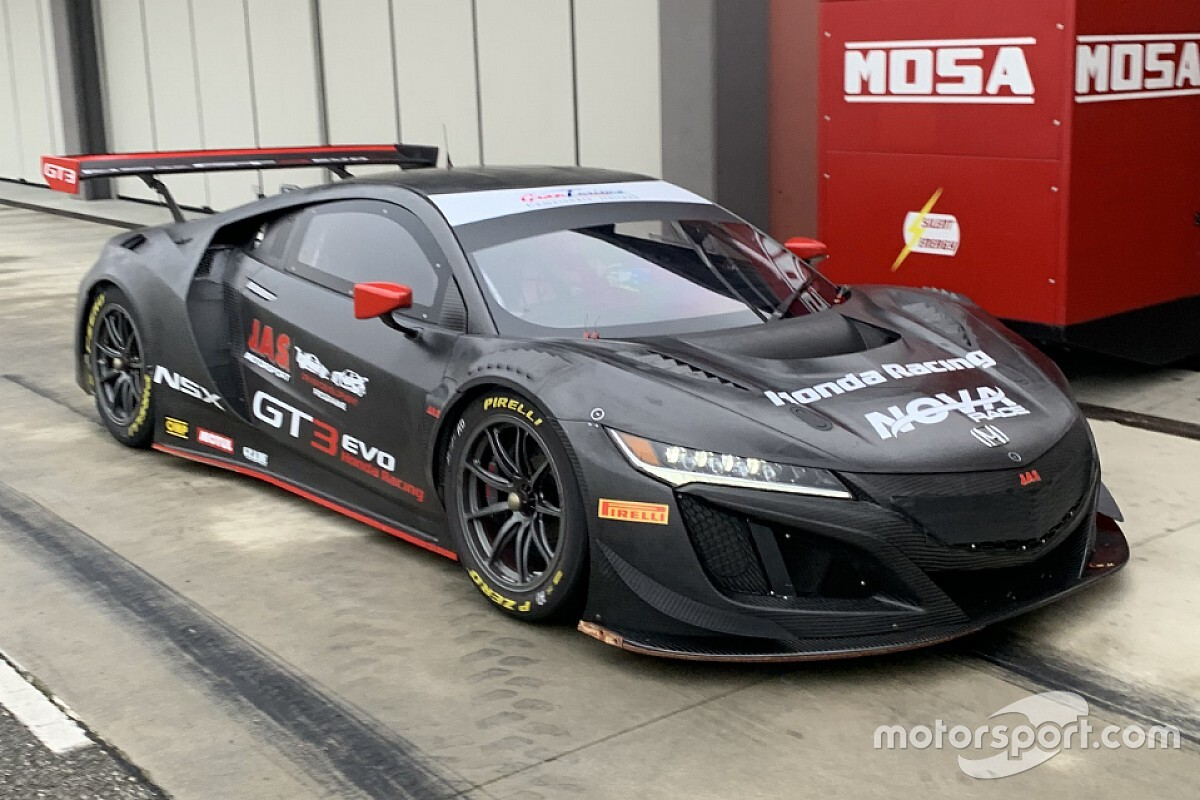 GT Italiano: Nova Race prova la Honda a Cervesina