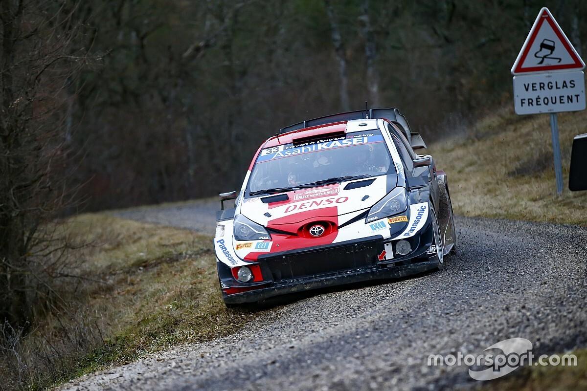 WRC Monte Carlo: Evans neemt leiding over na lekke band Ogier
