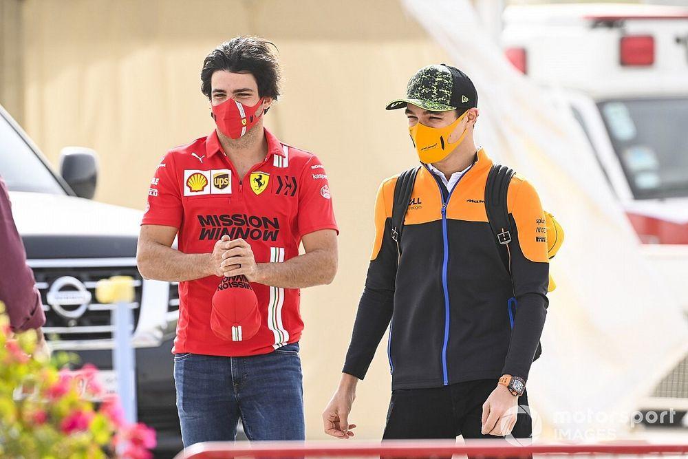 Sainz tips Norris and McLaren to shine in Baku