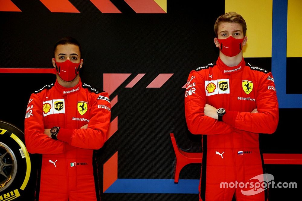 Ferrari: Shwartzman e Fuoco nei test di Abu Dhabi