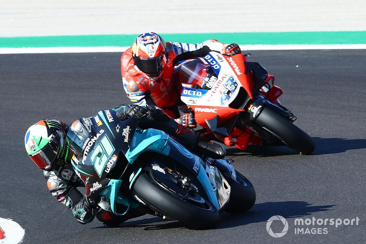 """Morbidelli runner-up in MotoGP: """"Belangrijker dan P2 in de race"""""""