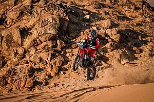 "Brabec frustrated by Dakar ""rubber band effect"""