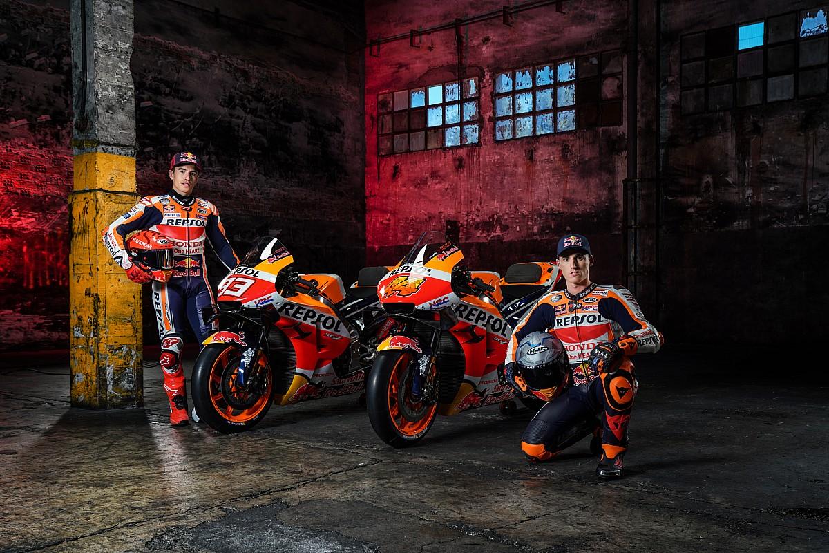 Itt a 2021-es Honda, Marquez ismét kiállhatott a nyilvánosság elé - Galéria