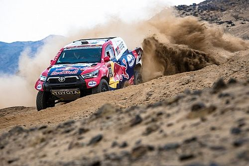 "Toyota: Dakar speed limit will stop X-raid ""running away"""