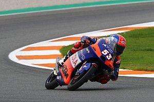 Moto3, Valencia, Libere 3: Oncu comanda un turno bagnato