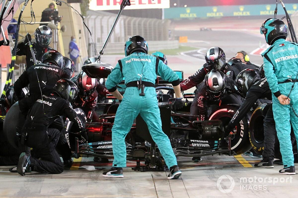 El incidente de Russell en el GP de Sakhir motivó un cambio de reglas