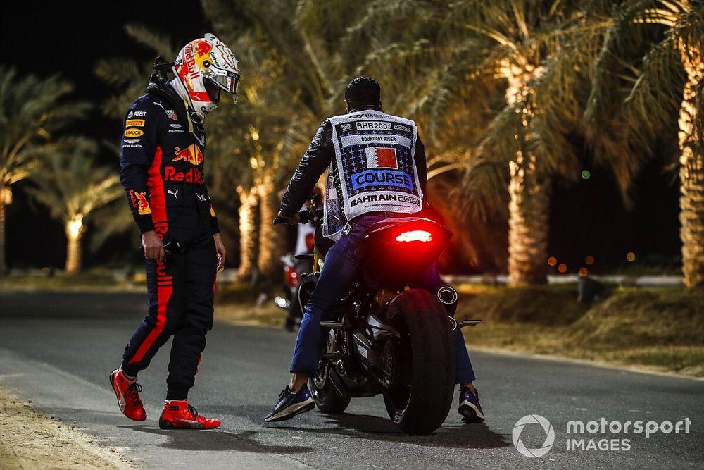 """Verstappen: """"Sakhir'de sabırsız değildim"""""""