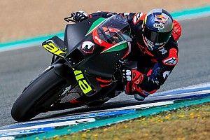 """Dovizioso tevreden na eerste Aprilia MotoGP-test: """"Slimme zet"""""""