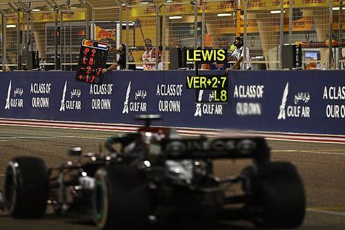 """Hamilton over laatste ronden Grand Prix van Bahrein: """"Vreselijk"""""""
