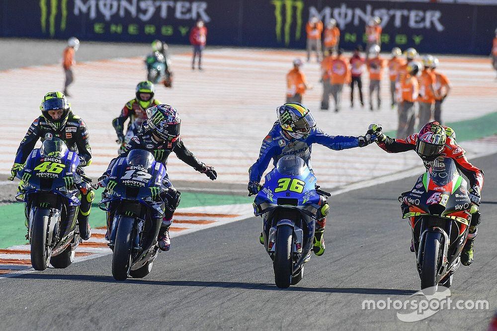 """Vinales: """"Yamaha'nın şampiyonluk için savaşabileceği hiçbir şeyi yoktu"""""""
