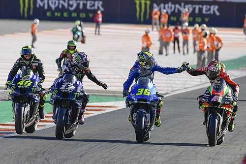 """Yamaha """"didn't have anything"""" to fight for MotoGP title – Vinales"""