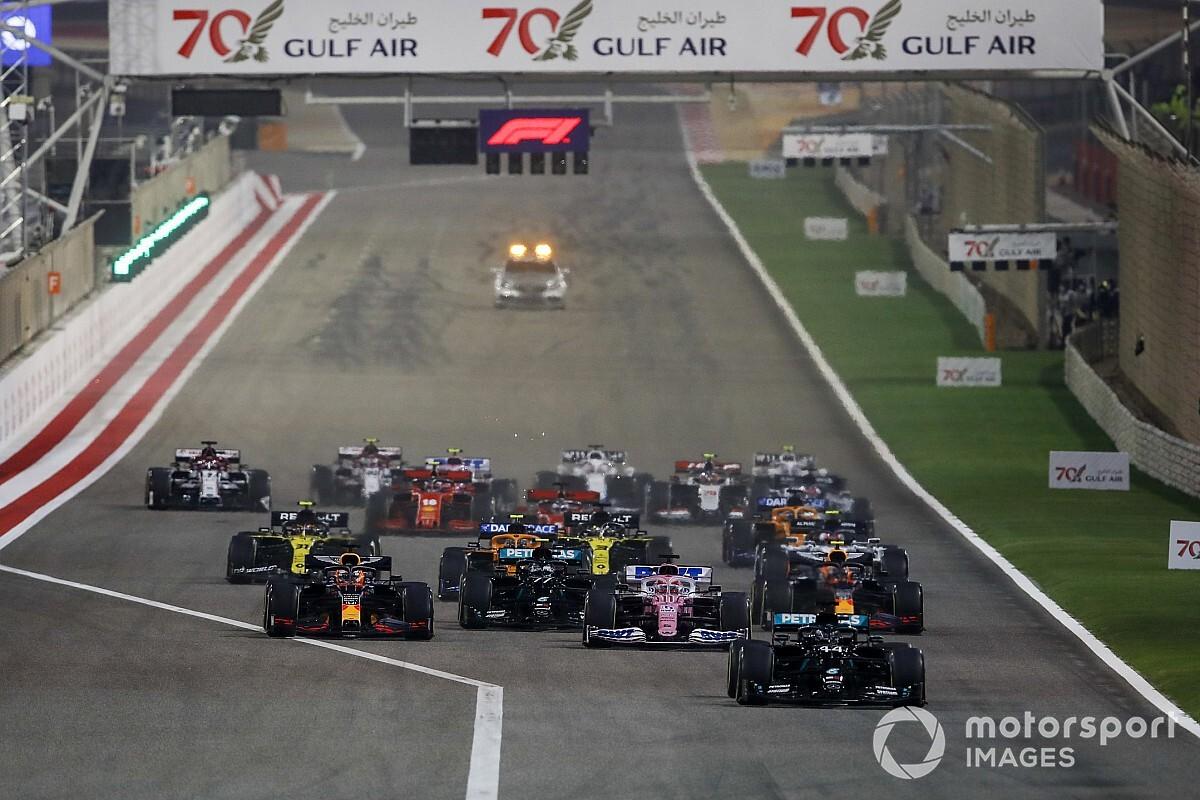 Formel 1 Bahrain 2020: Die animierte Rundentabelle