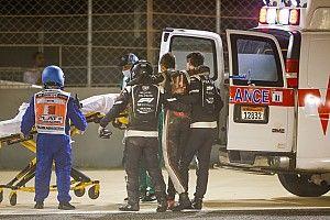 Romain Grosjean devrait quitter l'hôpital mardi