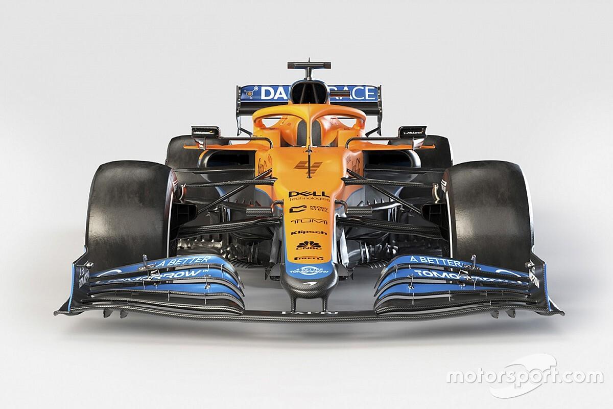 Formel 1 2021: Der neue McLaren MCL35M in Bildern