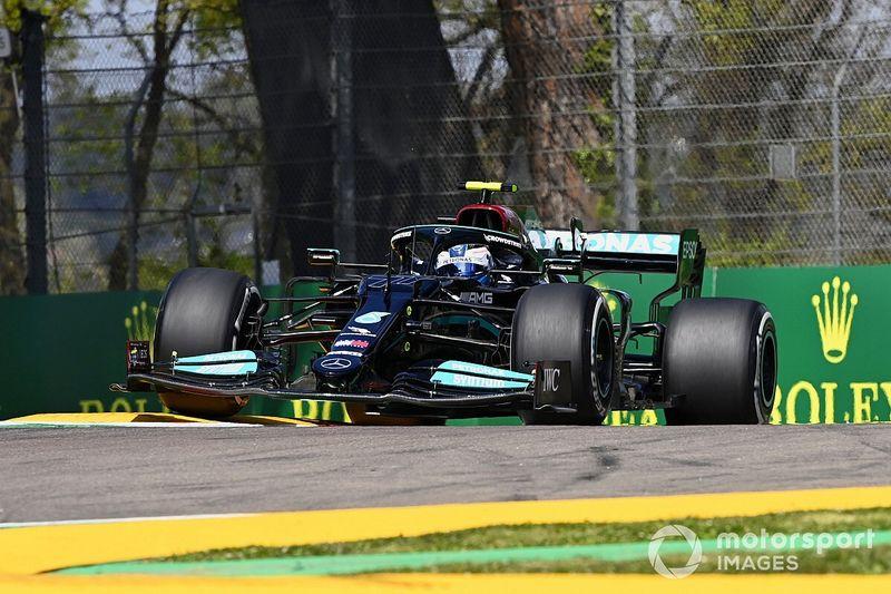 Emilia Romagna GP: Bottas tops FP2 as Verstappen hits trouble