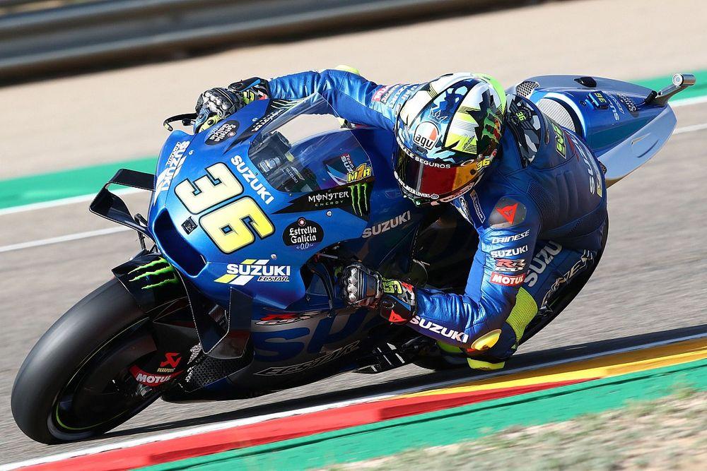 """Mir """"niet echt tevreden"""" met derde plaats in Aragon GP"""