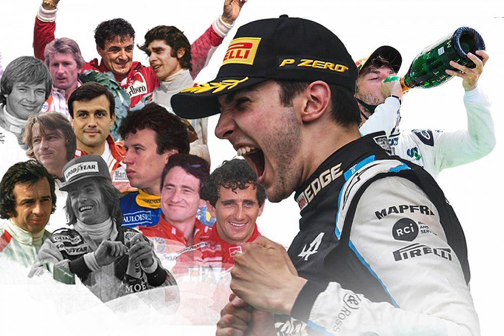 GALERÍA: Pilotos franceses que han ganado en F1