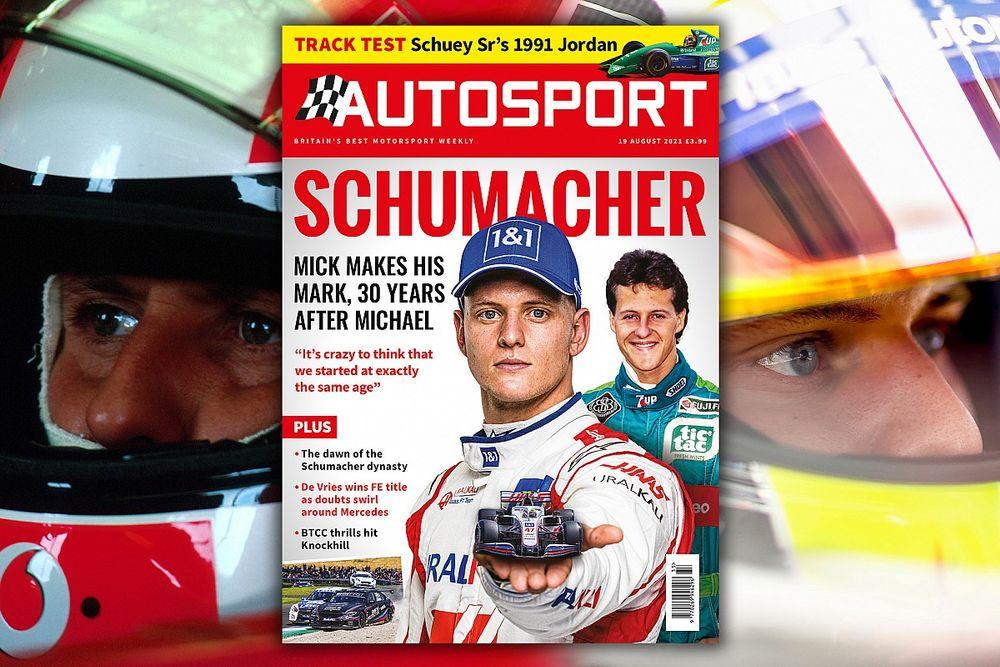 Magazine: Schumacher special, Jordan 191 track test and FE finale