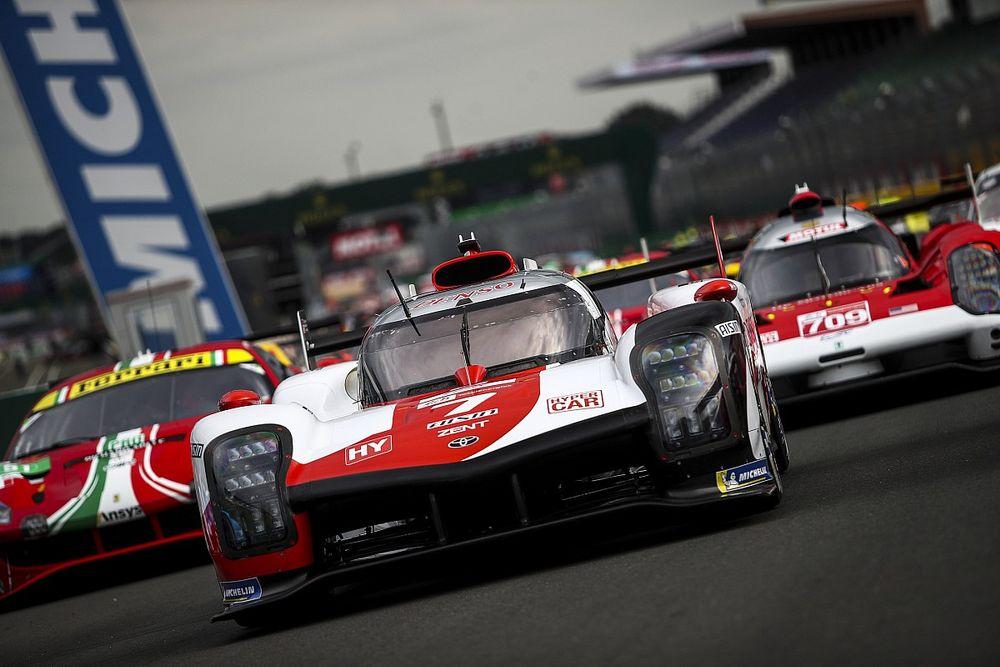 Hypercar sınıfı için Le Mans güç ayarları 1.6 saniyelik bir artış sağlamış