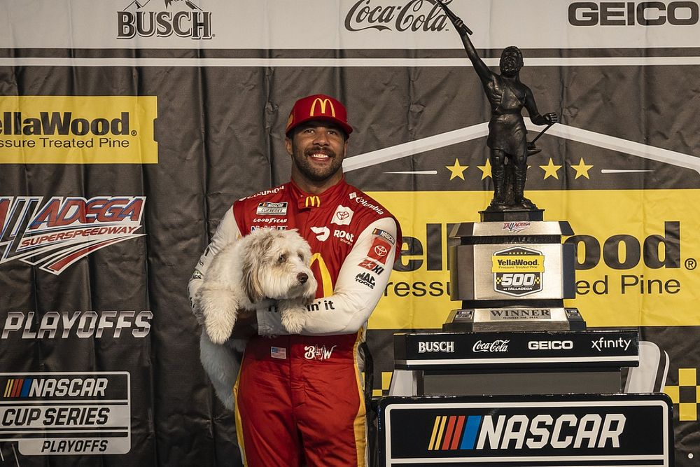 Why Bubba Wallace's Talladega win is such a big moment for NASCAR