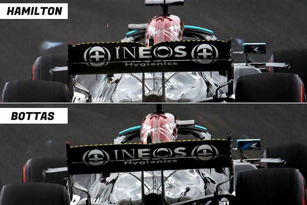 Mercedes: i 22 cv ritrovati consentono a Hamilton una W12 più carica