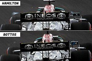 Cómo Hamilton y Mercedes lograron un coche imbatible el sábado