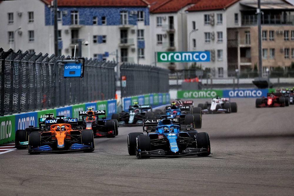 """Alonso rozó el podio en Rusia: """"La suerte nos esquivó bastante"""""""