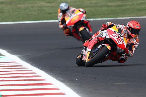Положение в общем зачете MotoGP после Гран При Сан-Марино
