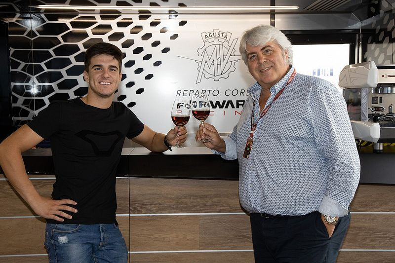 Marcos Ramirez Berlabuh ke MV Agusta Forward Racing