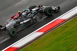 Así fue la carrera del GP de Turquía de F1 en mojado