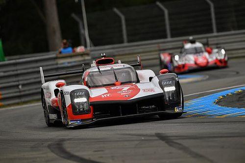Toyota op koers voor Le Mans-zege, Bleekemolen moet strijd staken