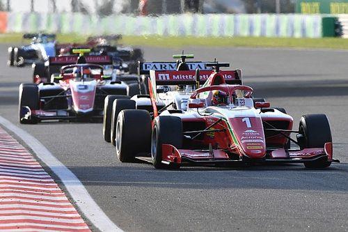 Леклер-младший упустил победу в воскресной гонке Формулы 3