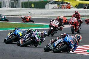 Alex Rins Jatuh Lagi karena Coba Kejar Ducati