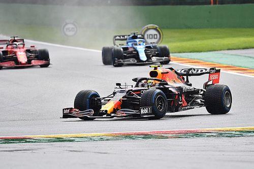 F1: Pérez bate a caminho do grid e está fora do GP da Bélgica