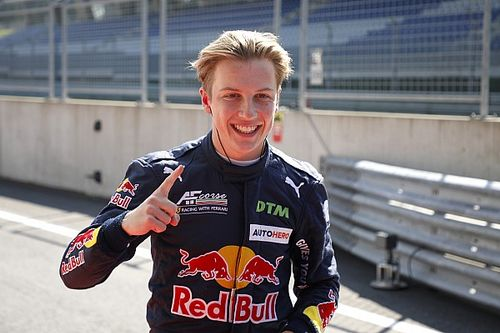 Lawson z pole position