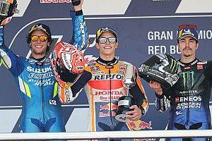 Ongenaakbare Marquez pakt zege in Grand Prix van Spanje